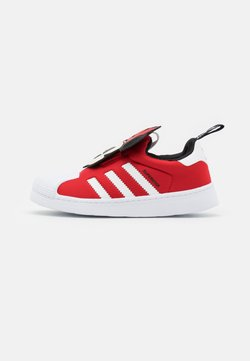 adidas Originals - SUPERSTAR 360 UNISEX - Matalavartiset tennarit - vivid red/footwear white/core black
