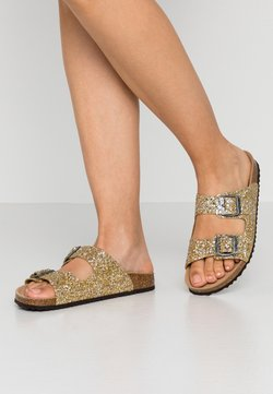 Geox - BRIONIA - Chaussons - gold