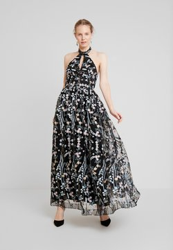 Maya Deluxe - ALL OVER EMBROIDERED PROM MAXI DRESS WITH KEYHOLE - Festklänning - multi