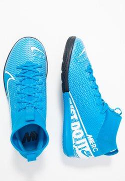 Nike Performance - MERCURIAL JR 7 ACADEMY IC UNISEX - Scarpe da calcetto - blue hero/white/obsidian