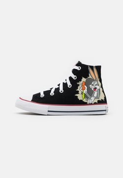 Converse - CHUCK TAYLOR ALL STAR BUGS BUNNY 80TH PRANKSTER UNISEX - Sneakersy wysokie - black/multicolor/white