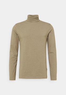 Lindbergh - Langærmede T-shirts - dark sand