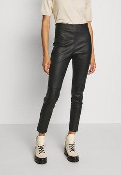 WEEKEND MaxMara - ARCADIA - Pantalon en cuir - schwarz