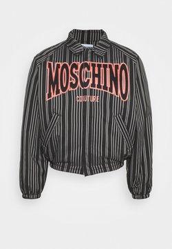 MOSCHINO - Leichte Jacke - black