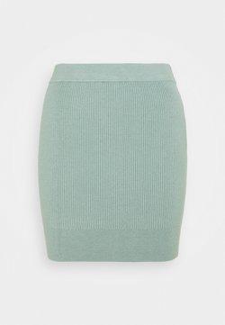 Fashion Union Petite - FLOWLER SKIRT - Minirok - green