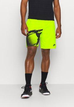 Nike Performance - SLAM - Träningsshorts - hot lime/black/black