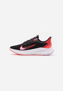 Nike Performance - ZOOM WINFLO  - Zapatillas de running neutras - black/flash crimson/beyond pink