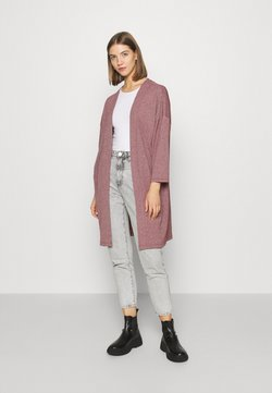 ONLY - ONLDIANA LONG CARDIGAN  - Kofta - pomegranate