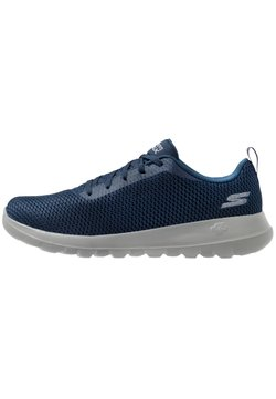 Skechers Performance - GO WALK MAX - Walking trainers - navy/grey