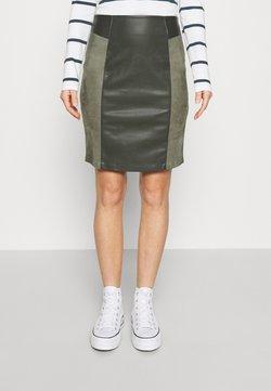 ONLY - ONLELISA MIX SKIRT - Mini skirt - peat