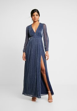 Nly by Nelly - SHIMMERY MAXI GOWN - Ballkleid - dark blue