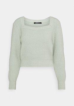 Gina Tricot - KIM - Sweter - aqua gray