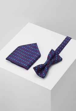 Only & Sons - ONSTOBIAS BOW TIE BOX HANKERCHIE SET - Einstecktuch - copen blue