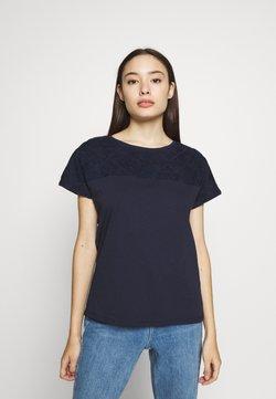Esprit Petite - Camiseta estampada - navy