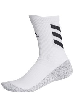 adidas Performance - ALPHASKIN TRAXION - Sportsocken - white