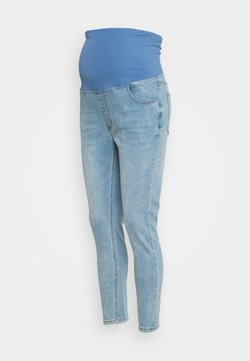 Cotton On - MATERNITY CROPPED SKINNY OVER-BELLY - Vaqueros pitillo - brighton blue