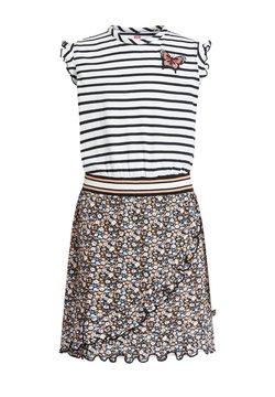 WE Fashion - MET DESSIN - Jerseykleid - multi-coloured