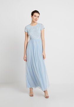 Lace & Beads - PICASSO CAP SLEEVE - Ballkleid - powder blue