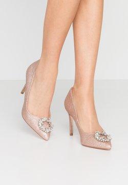 Dorothy Perkins - GLADLY POINTED TRIM COURT - High Heel Pumps - pink