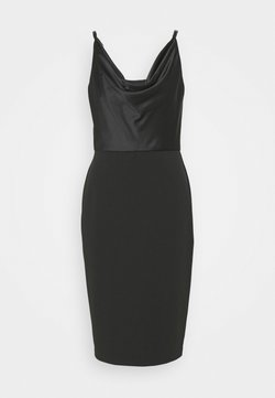 Lauren Ralph Lauren - ARANDA SLEEVELESS COCKTAIL DRESS - Vestito elegante - black