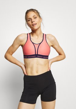 Shock Absorber - ULTIMATE RUN BRA PADDED - Sport BH - grapefruit