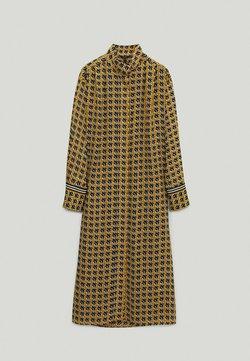 Massimo Dutti - Sukienka koszulowa - mustard yellow