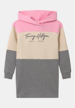 Tommy Hilfiger - LOGO COLORBLOCK  - Day dress - pink