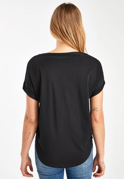 Next - T-Shirt print - black
