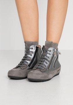 Candice Cooper - LUCIA ZIP - Höga sneakers - gibson acciaio/tamponato antracite
