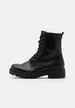 TOM TAILOR DENIM - Veterboots - black