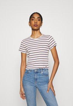 Hollister Co. - LETTUCE TEE - T-Shirt print - white