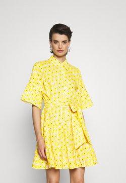 Diane von Furstenberg - BEATA DRESS - Blusenkleid - sunshine yellow