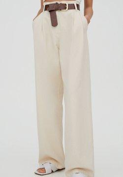PULL&BEAR - Stoffhose - beige