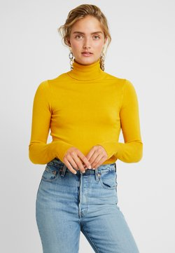 ONLY - ONLVENICE ROLLNECK - Jersey de punto - golden yellow