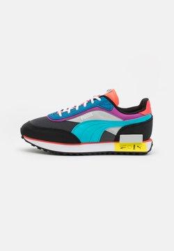 Puma - FUTURE RIDER ICONS UNISEX - Sneakersy niskie - castlerock/black