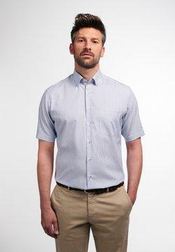 Eterna - MODERN FIT - Hemd - blau/weiß