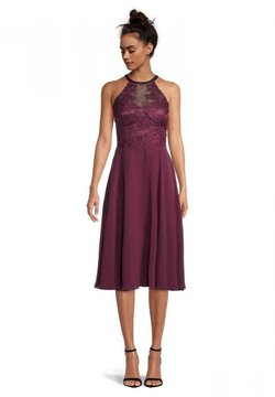 Vera Mont - Cocktailkleid/festliches Kleid - shiny bordeaux