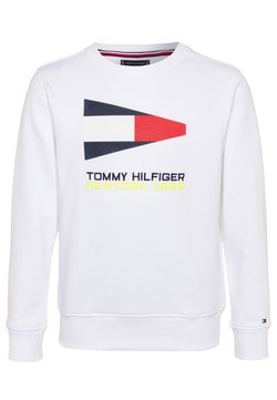 Tommy Hilfiger - SAILING FLAG GRAPHIC - Sweater - white