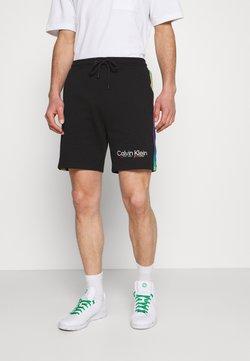 Calvin Klein - PRIDE UNISEX - Shorts - black