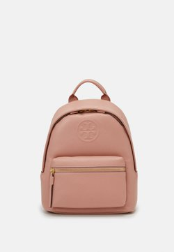 Tory Burch - PERRY BOMBE SMALL BACKPACK - Reppu - pink moon