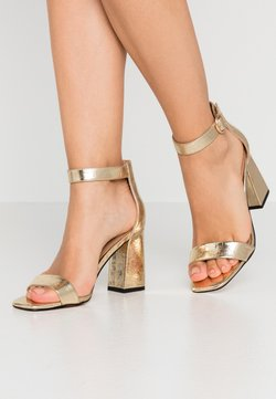 ONLY SHOES - ONLALYX - Sandalen met hoge hak - gold