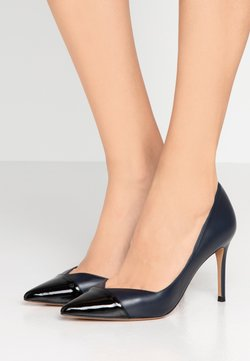 Pura Lopez - High Heel Pumps - navy blue/nero