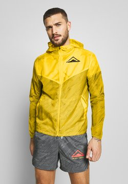 Nike Performance - TRAIL - Windbreaker - speed yellow/black