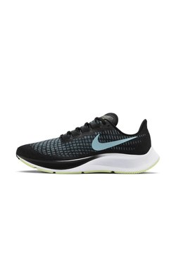 Nike Performance - AIR ZOOM PEGASUS 37 - Neutrala löparskor - black/barely volt/white/glacier ice