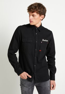 Denham - LINCOLN - Camicia - black