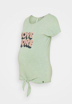 LOVE2WAIT - KNOT LOVE MORE - T-shirt imprimé - mint