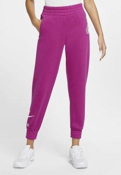 Nike Sportswear - AIR PANT   - Spodnie treningowe - cactus flower/white