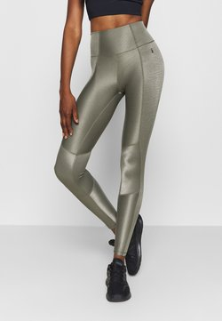 Good American - THE SHINY LEGGING - Trikoot - sage