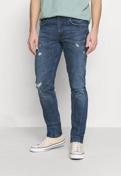 Redefined Rebel - STOCKHOLM DESTROY - Straight leg jeans - blue lagoon