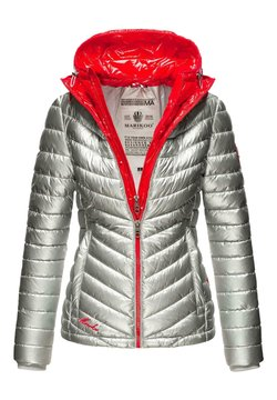 Marikoo - Winterjacke - silver/red